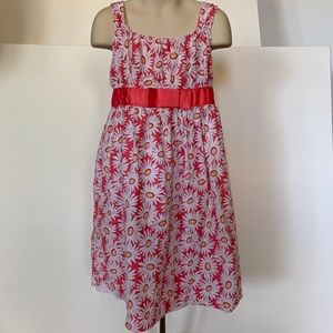 George Sleeveless dress with floral design